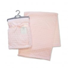 BW-112-987P: Embossed Bubbles Baby Wrap - Pink