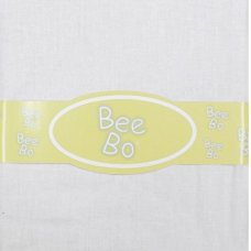 Baby Cot Cotton Fitted Sheet- White (60 x 120 CM)