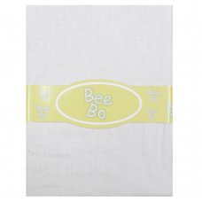 Baby Crib Cotton Fitted Sheet- White