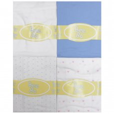 Pram/Moses Basket Cotton Fitted Sheet (40 x 80 CM)