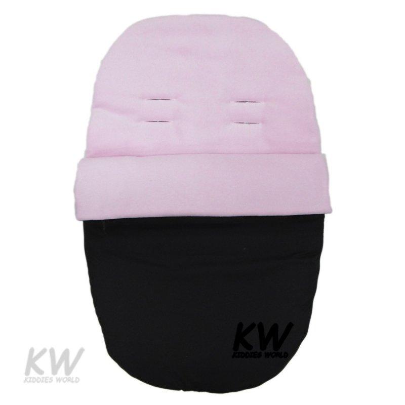 Pink Fleece Car Seat Footmuff