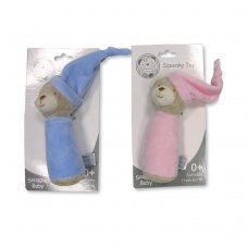 GP-25-0880PB: Baby Bear Squeaky Toy (0+ Months)