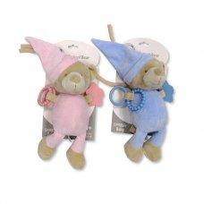 GP-25-0889PB: Baby Musical Bear Teething Toy (0+ Months)