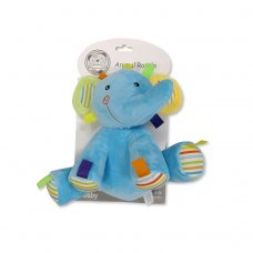 GP-25-0897: Baby Animal Rattle Toy - Elephant (0+ Months)