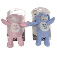 GP-25-0901: Baby Bear Rattle 'My First Bear' (0+ Months)