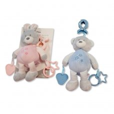 GP-25-0936: Baby Activity Toy With Rings, Teether & Large Clip (0+ Months)