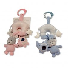 GP-25-0940: Baby Activity House Toy With Link, Rattles & Teether (0+ Months)