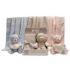 GP-25-0945: Plush Toy with Star-Blanket in Box