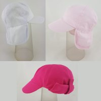0215: Girls Legionnaire Cap (1.5-8 Years)