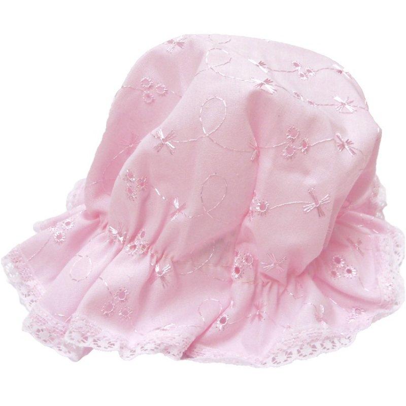 Baby Girls Mop Hat- Pink