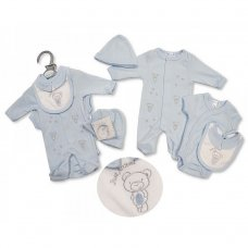 PB-20-497: Premature Boys Just Arrived Bear 5 Piece Set