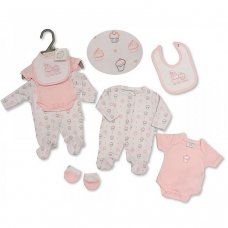 PB-20-504: Premature Girls 4 Piece Set - Cupcake
