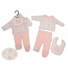PB-20-506: Premature Girls 3 Piece Set - Cupcake