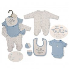PB-20-508: Premature Boys 4 Piece Set- Whale