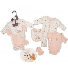 PB-20-512: Premature Baby Girls 4 Piece Set - I Love Cuddles