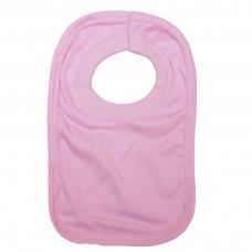 PBCC: Pink Pullover Bib Cotton