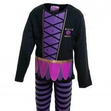 0442601: Girls Halloween Wicked Witch Pyjama (2-6 Years)