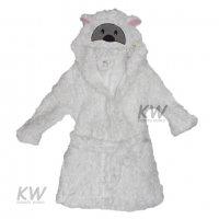 Sheep Hooded Sherpa Fleece Dressing Gown (2-6 Years)
