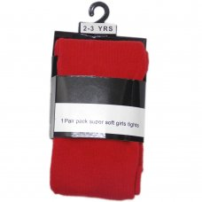 Super Soft Lycra Tights: Red