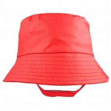 0321: Red Sun & Showerproof Bucket Hat