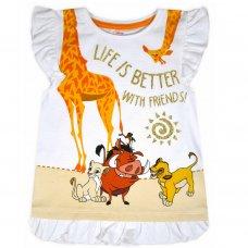 CH4: Girls Lion King T-Shirt (1-6 Years)
