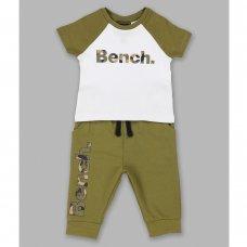 V21314:  Baby Boys Bench T-Shirt &  Jog Pant Set (3-18 Months)